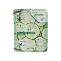 Тканевая маска для лица с экстрактом огурца Fresh Cucumber Mask Sheet