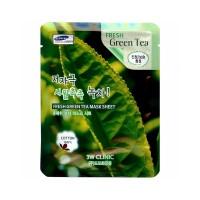 Увлажняющая тканевая маска с экстрактом зеленого чая Fresh Green Tea Mask Sheet