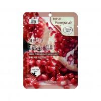 Тканевая маска для лица с экстрактом граната Fresh Pomegranate Mask Sheet