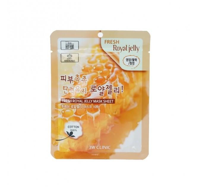 Тканевая маска для лица с маточным молочком Fresh Royal Jelly Mask Sheet