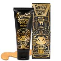 Золотая омолаживающая маска пленка Hell Pore Longolongo Gronique Gold Mask Pack