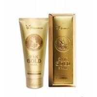 Пенка для умывания с золотом и муцином улитки 24K Gold Snail Cleansing Foam