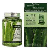 Многофункциональная ампульная сыворотка с экстрактом алоэ Aloe All In One Ampoule