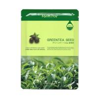 Тканевая маска для лица с экстрактом семян зеленого чая Visible Difference Mask Sheet Green Tea Seed