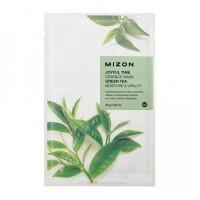 Тканевая маска для лица с экстрактом зелёного чая Joyful Time Essence Mask Green Tea